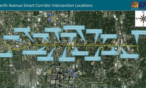 Atlanta's Smart Corridor to Serve as Living Lab for Smart Transportation