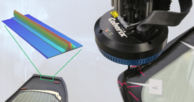 Predator3D GlassMaster Pro Released For Glass Urethane Bead Inspection and Process Control