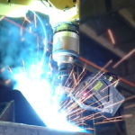 Laser Scanner Guides Adaptive Robotic Welding