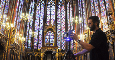 Laser Scanning Provides Digital 3D Cathedral Surveys