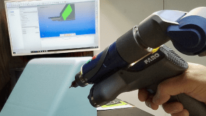 Portable Scanning Arm Outpaces Traditional CMM Inspections