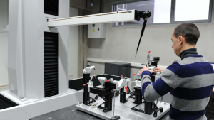 Horizontal CMM Inspects Next Generation Automotive Fixtures