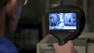 Ultrasonic Imaging Camera Locates Air Leaks & Partial Discharge