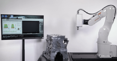 Inline Robotic Surface Finish Inspection