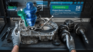 Spatial Computing Relationship Set to Optimize Factories of the Future
