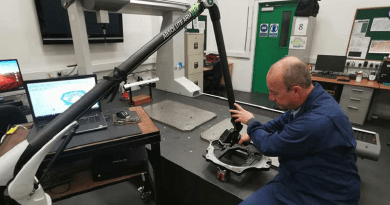 Portable Measuring Arm Improves Processes and Capabilities