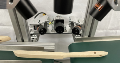 Fully Automated Machine Vision Brush Handle Inspection