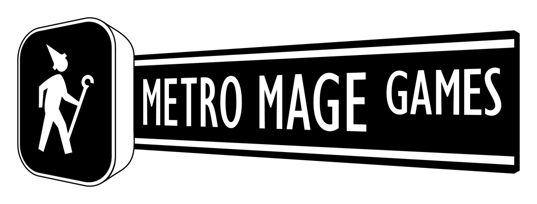 Metro Mage Game Logo