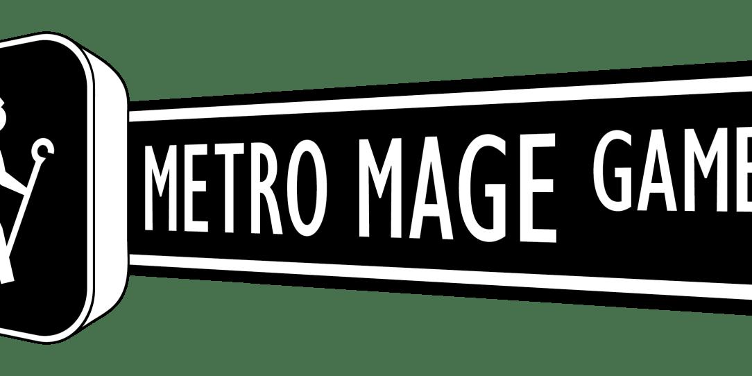 Metro Mage Game Logo