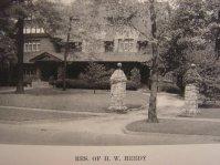 H.W. Heedy House on Broadway, 1927
