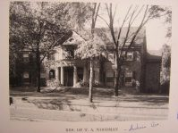 T.A. Woodman House, Indiana Avenue, lost to arson in 2006
