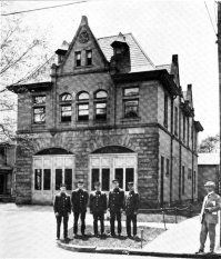 Youngstown fire station at Elm and Madison