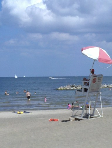 Presque Isle State Park in 2012. Courtesy of Stacey Adger.