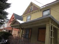 Historic Wick Park home before exterior work