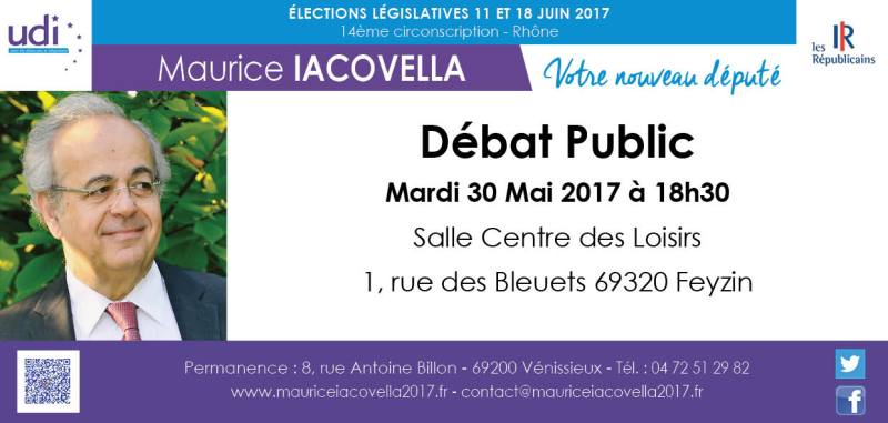 cte-feyzin Débat Public Maurice Iacovella Legislatives 2017 circonscription 14 6914