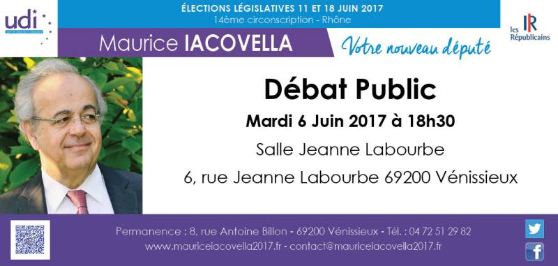 cte-venissieux Débat Public Maurice Iacovella Legislatives 2017 circonscription 14 6914