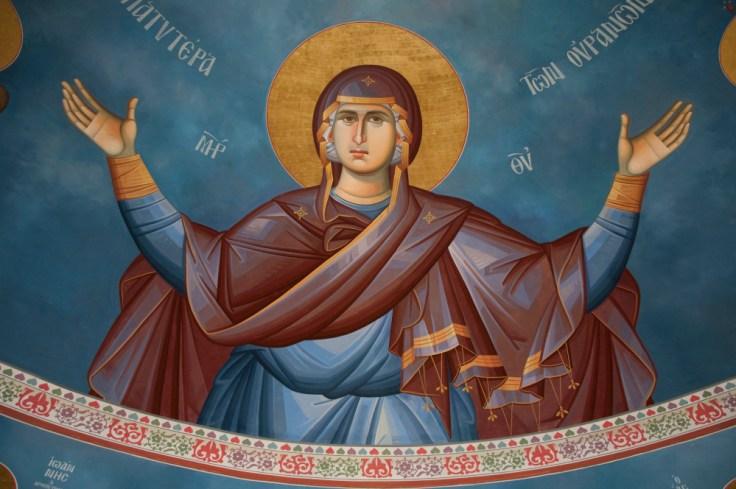 Vergine maria ortodossa
