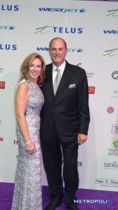 Jim Treliving and Sandi Treliving/Image: Carla Hernandez