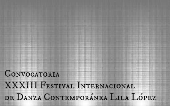 XXXIII del Festival Lila López