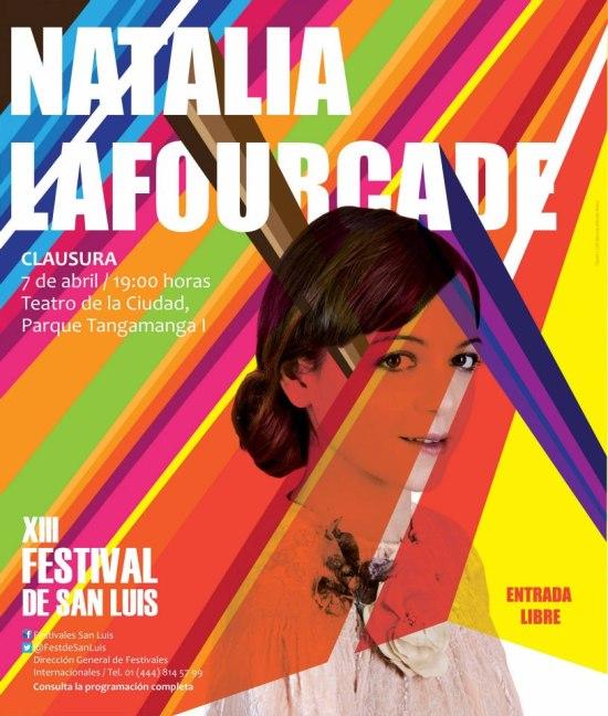 Natalia Lagourcade  en el XIII FEstival de San Luis