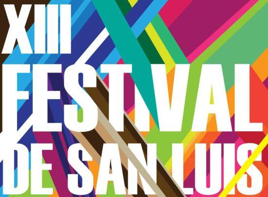 XIII Festival de San Luis logo