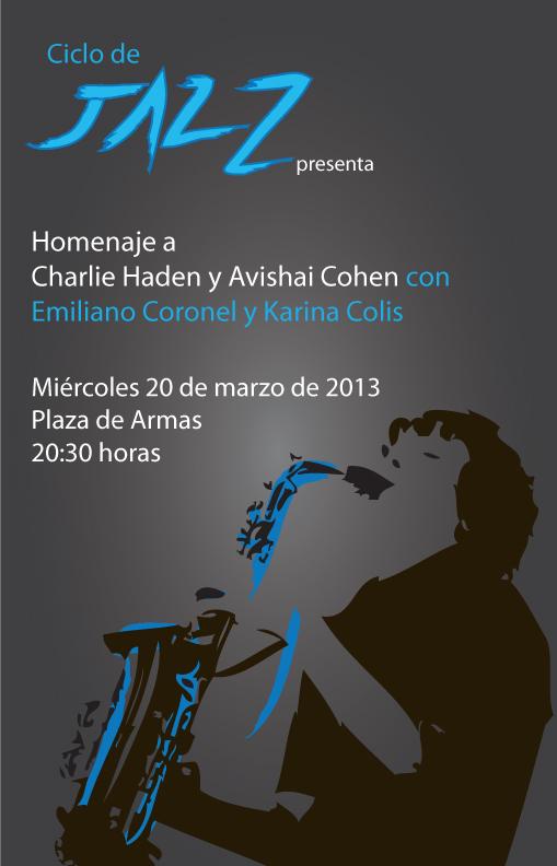 invitación concierto Jazz - miercoles 20 marzo 2013