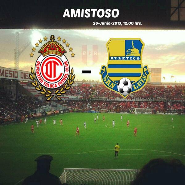 Atléitco San Luis vs Toluca