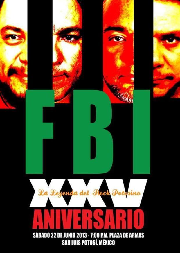 FBI - concierto en Plaza de Armas
