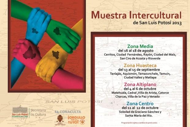 Cartel Muestra Intercultural final con logo orgullo