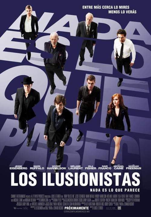 los ilusionistas poster