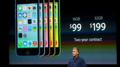 Photo of Apple lanza el iPhone 5C y 5S