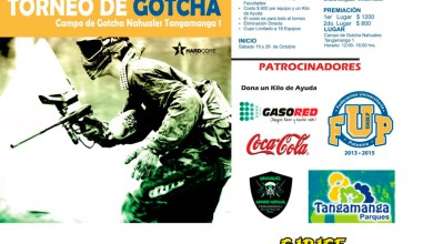 Photo of Convocan al primer torneo universitario de Gotcha