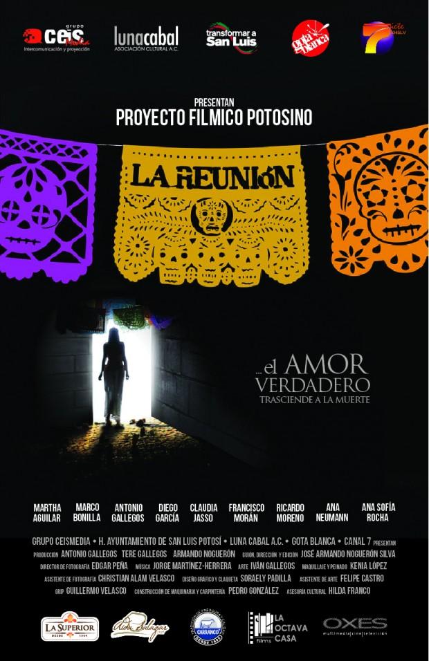 cartel la reunion cortometraje