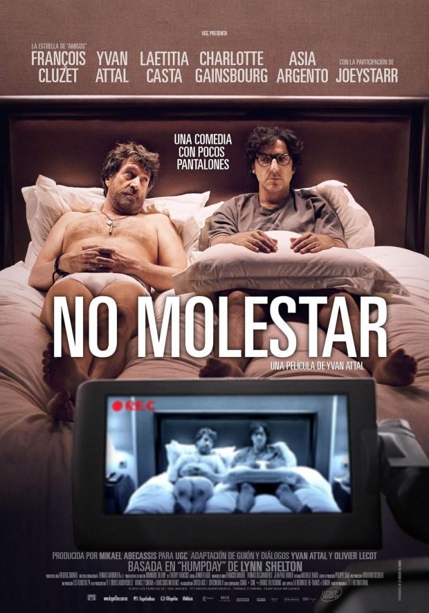 no molestar poster