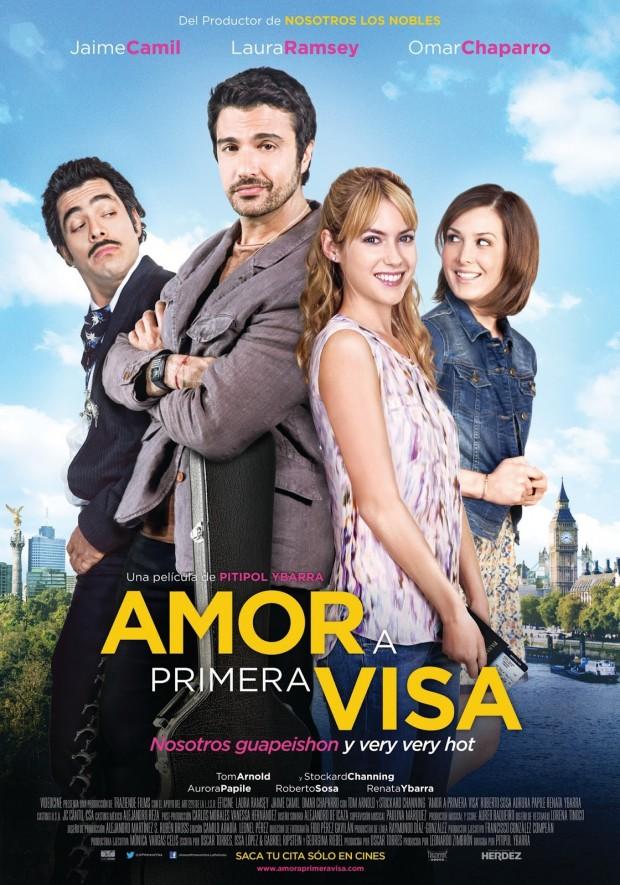 Amor_A_Primera_Visa_Poster