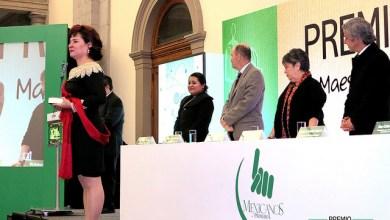Photo of Maestra potosina gana premio nacional de la fundación Mexicanos Primero