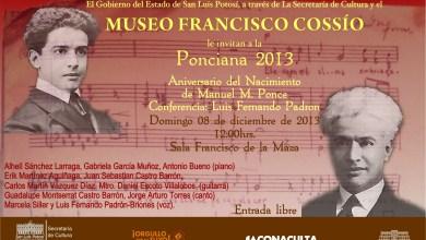 Photo of Homenaje por el 131 Aniversario del Nacimiento de Manuel M. Ponce en el Museo Francisco Cossío