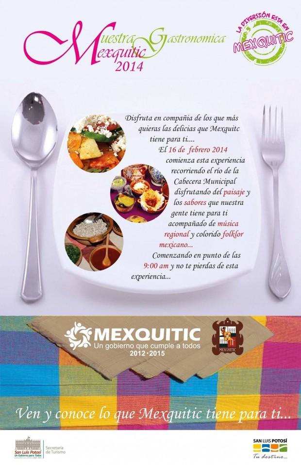 3.-MUESTRA GASTRONÓMICA MEXQUITIC