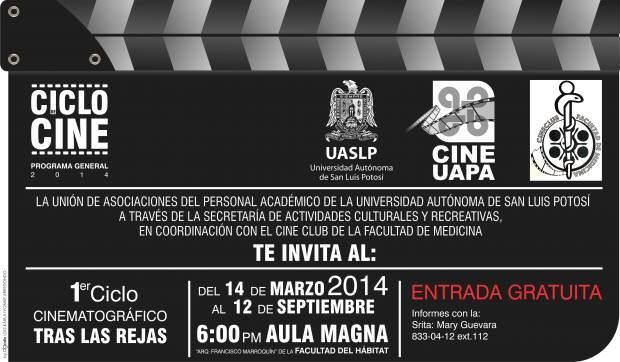 30Mar14 Ciclo Cine UAPA 1