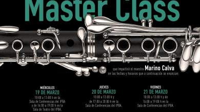 Photo of Marino Calva impartirá un Master Class en el IPBA