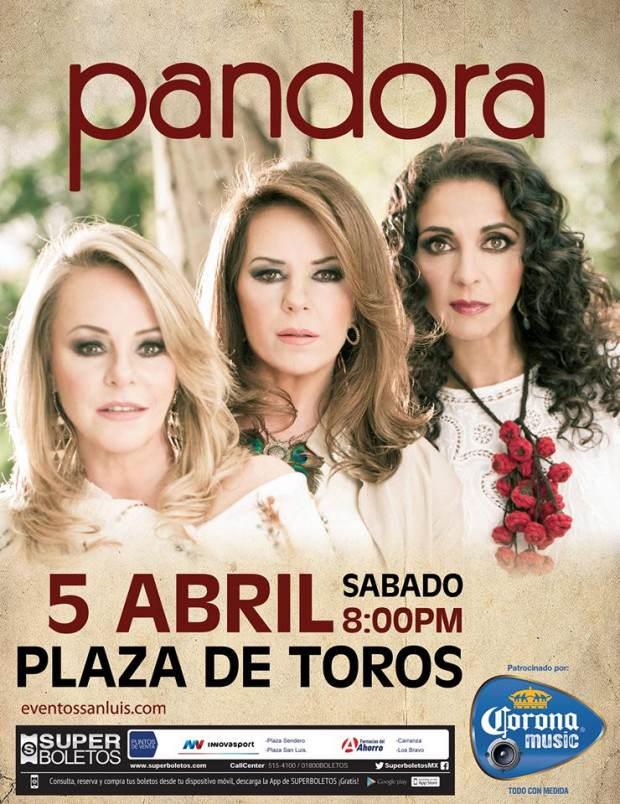 Pandora 3 abril