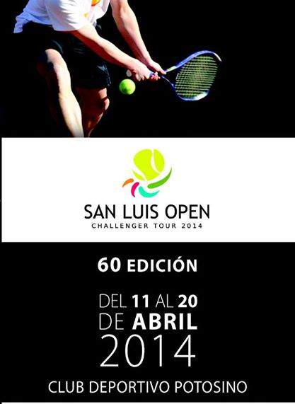 San Luis Open Challenger Tour 2014 @ Club Deportivo Potosino | San Luis Potosí | San Luis Potosí | México