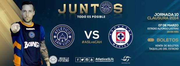 Atlético San Luis vs Cruz Azul @ Estadio Alfonso Lastras | San Luis Potosí | San Luis Potosí | México