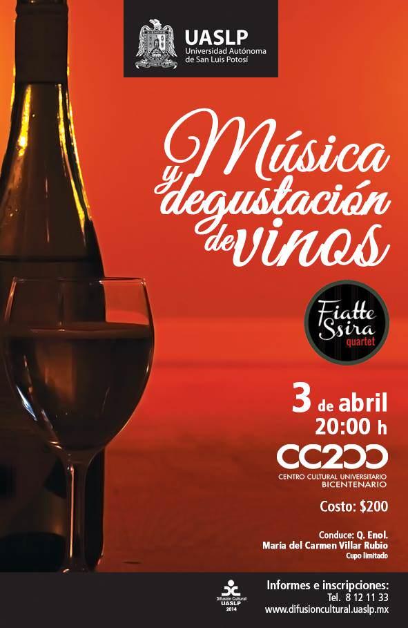 musica y degustación de vinos