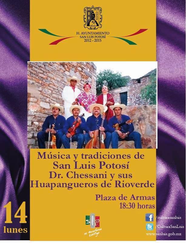 M´suica y tradiciones de San Luis Potosí