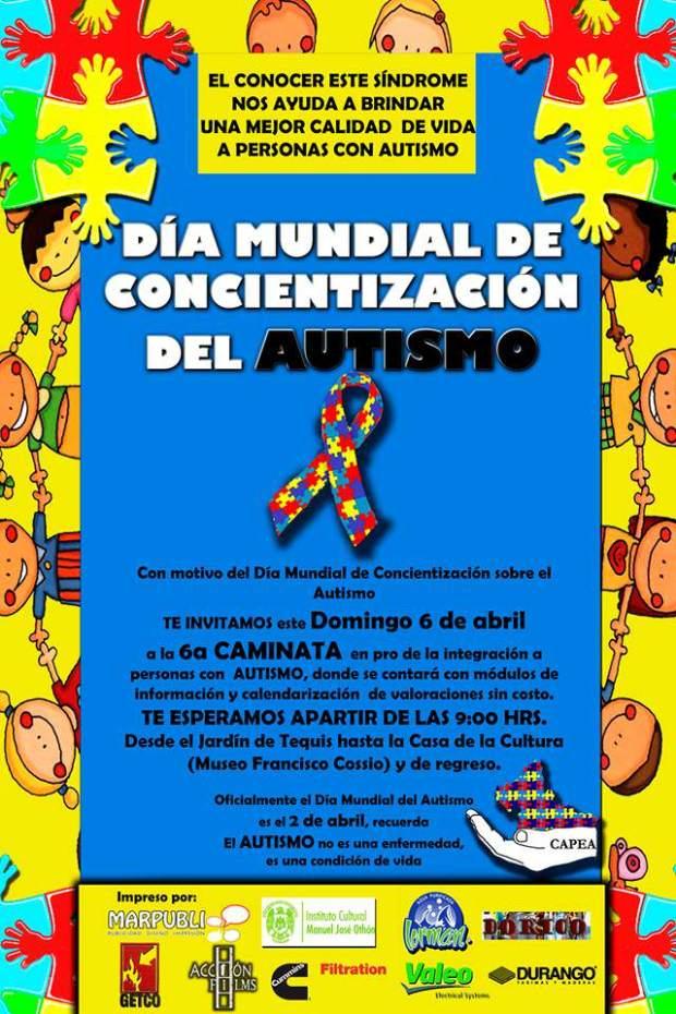 6a. Caminata por la concientización del autismo en San Luis Potosí