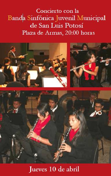concierto banda sinfonica juvenil municipal
