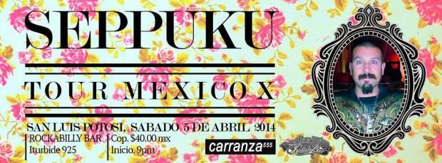 seppuku tour mexico x