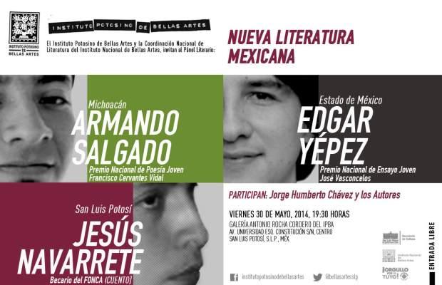 INVITACI[ON DIGITAL LAS NUEVA LITERATURA MEXICANA 1