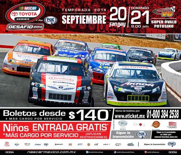 Nascar Toyota Series SLP 2014 @ Super Ovalo Potosino  | San Luis Potosí | San Luis Potosí | México